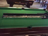 Woods 3 Piece Snooker Cue - Brand New