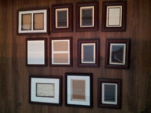 (14) matching picture frames Cambridge Kitchener Area image 1