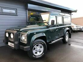 2011 Land Rover 110 Defender 2.4TDi County Station Wagon XS **9 Seater FSH**