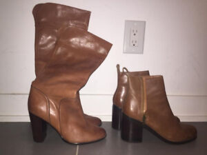 Never worn size 9 tan boots