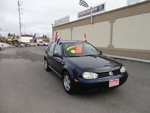 2003 Volkswagen Golf GL Hatchback E-TESTED & CERT