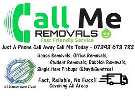 Cheap Man And Van, House, Office, Student, Rubbish, Moves, Removals, Clearances. Call 07393 673 782