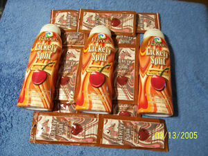 Tanning Lotion  3 large bottles 10 packets USA Made lickety spli