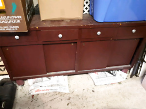 Free work bench/cabinet