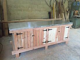 Bespoke handmade bench