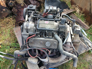 6 CYL Motor and Transmission