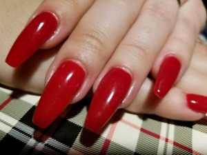 Pose d'ongle 30$