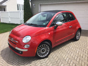 2012 Fiat 500C Lounge Cabriolet FULLY LOADED - 7900$ 67K