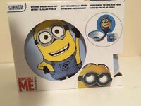 Despicable me- Dinnerware set