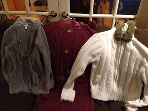 Girls warm sweaters - size 14/16 Kingston Kingston Area image 1