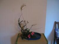 Japanese flower arranging (Ikebana) lessons