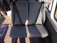 Vw t4 t5 rear double seat