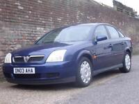 Vauxhall/Opel Vectra 1.8i 16v LS 2003(03) 5 Door Hatchback
