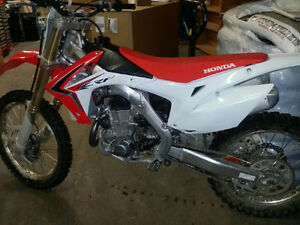 2014 crf450 very low hours