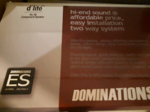 Clearance! Dominations 6.5 in dlite component