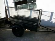 box trailer brand new 7x4heavy duty hi side   600mm hi cage Carlton Kogarah Area Preview