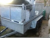 Stolen: Large Silver Trailer from Fort Kinnaird