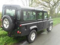 SORRY NO Land Rover 110 Defender 2.5Td5 County Td5LOW MILES 9seater BLACK.11 SER