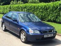 Honda Civic 2001 1.4i ( a/c ) Sport***GENUINE 41K + 3 KEYS + LONG MOT***