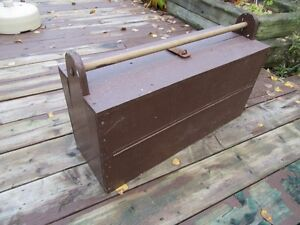 WOODEN TOOL BOX - REDUCED!!!!