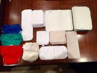 Kit Couches lavables neuves / reusable cloth diapers NEW
