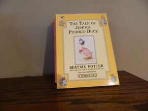 (12) BEATRIX POTTER books + (5) ANNE OF GREEN GABLES