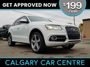 2014 Audi Q5 $199B/W S-LINE w/Leather, Sunroof, Navi. DRIVE HOME