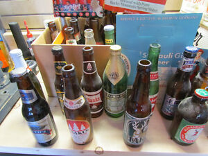 Vintage Beer Bottles Pop Bottles Memorabilia '70s Era + Peterborough Peterborough Area image 2
