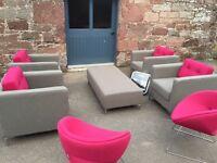 Designer sofa office chair job lot