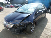 Honda Civic 1.8i-VTEC ES DAMAGED REPAIRABLE SALVAGE