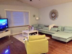 3 bedroom main floor home for rent..