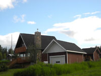 GORGEOUS 4 BEDROOM + SHOP LAKE VIEW in TESLIN