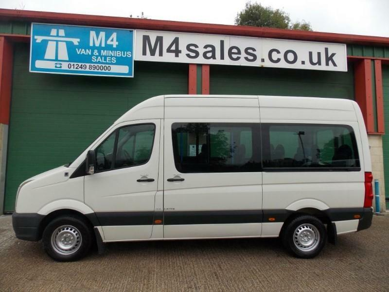 VW Crafter 136ps,15 seat 3.5ton minibus