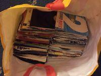 Mixed bag of vinyl singles