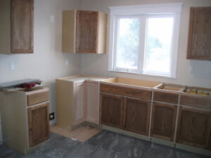 NEW kitchen cupboards, never used...read on!