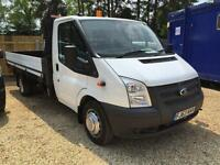 FORD TRANSIT 350 DRW dropside WAS £16200 now £15240, White, Manual, Diesel, 20