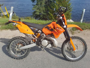 KTM 300 XCW - two stroke - Blue Plated - Street Legal - Enduro
