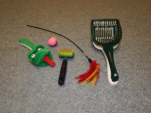 Cat Toys and Pooper Scoopers