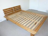 Double bed frame, free to collect