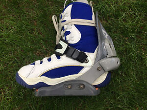 Ride step-in boots & bindings sz7