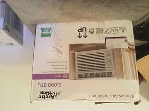 Brand new 5000 btu air conditioner