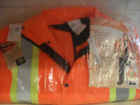 New 3 in 1 traffic jacket size small