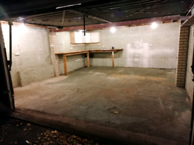 Double Garage Space Workshop with power Beckenham