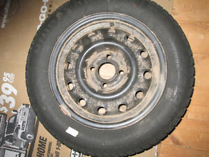 Four winter tires on 4 hole rims 185/60R14