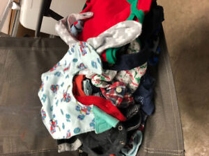 Box of 6-18month baby boy outfits