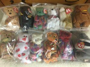 28 TY Beanie Baby toys + 5 other bears Sarnia Sarnia Area image 3