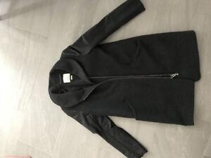 Women's Wool/Casmere/leather winter coat.