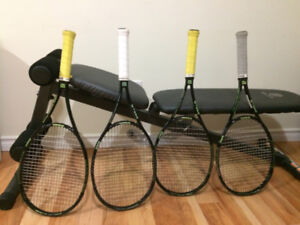 Used Four  Wilson 98 Blade Tennis Rackets  for Sale - $300.00