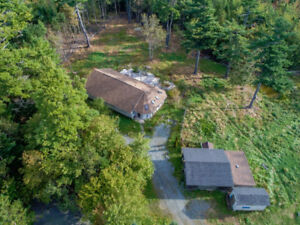 Hobby Farm anyone…?  With a 2044 Sq Ft Bungalow on 3 Acres?