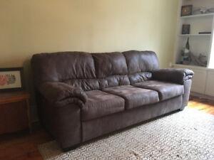 Micro Fibre Couch